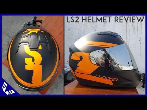 LS2 Helmet review   Model No FF352   Black & Orange   RWR