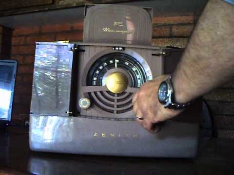 Radio Zenith Model: Elegant 6-G-801 Año 1948  Zenith Radio Corp.; Chicago,