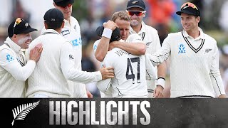 BLACKCAPS bowlers toil hard on DAY THREE  | 1st Test Day 3 HIGHLIGHTS | BLACKCAPS v Pakistan