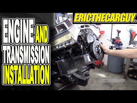 Engine and Transmission Installation #ETCGDadsTruck