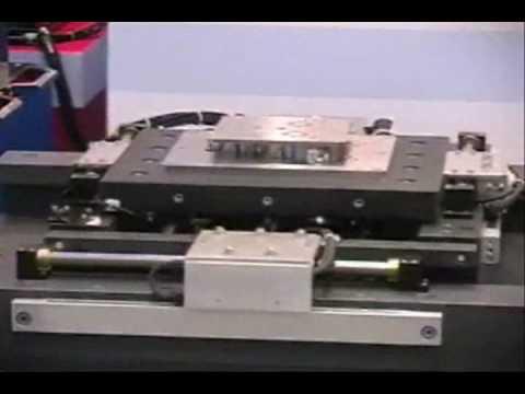 Five axis nippon pulse linear shaft motor stage youtube for Nippon pulse linear motor