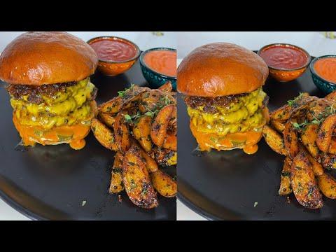 EVDE BURGER KİNG BİG KİNG XXL MENÜ TARİFİ!!! | Burger King Menu Recipe (with English Subtitle)