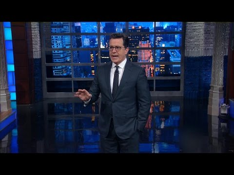 President Trump becomes comedy gold for late-night hosts
