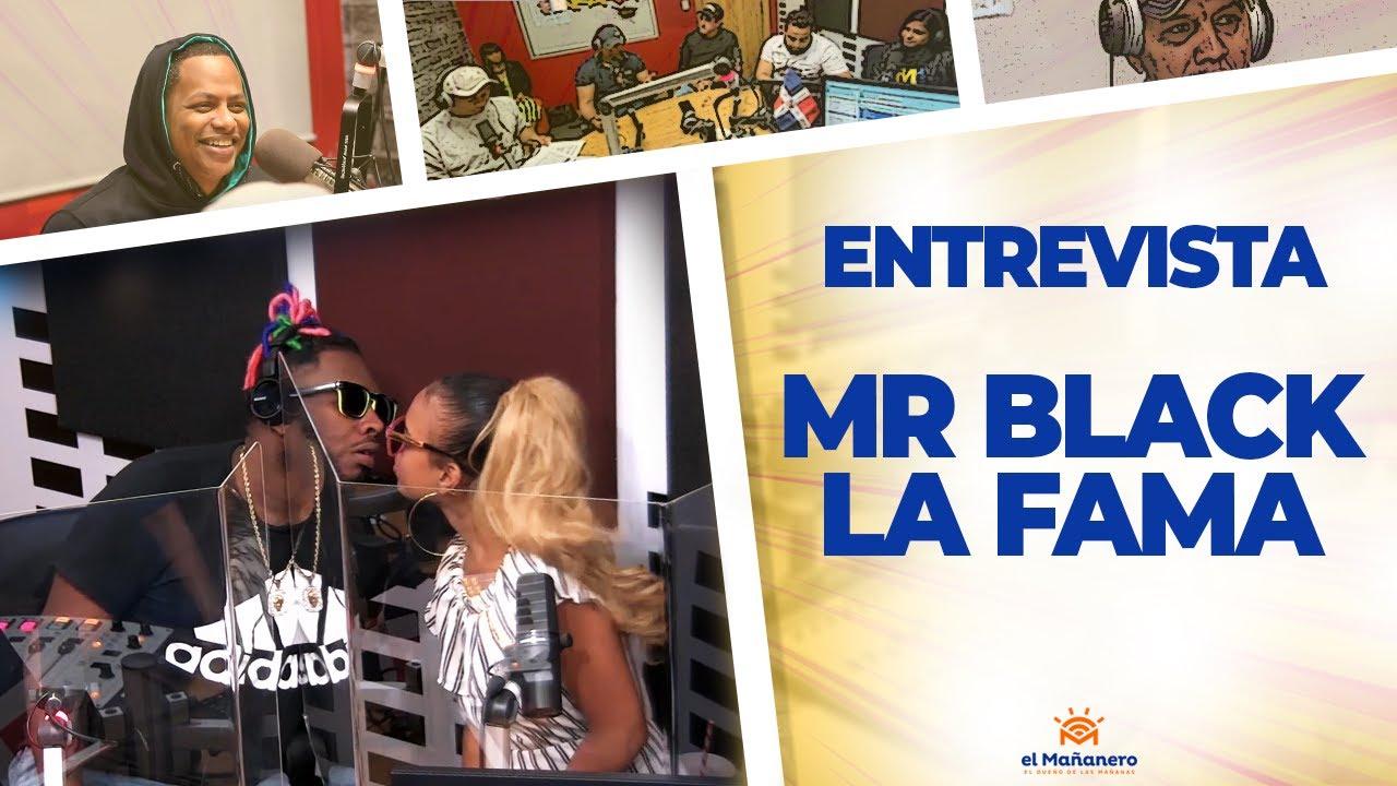 Mr Black La Fama y Alexa RD!! 🔥