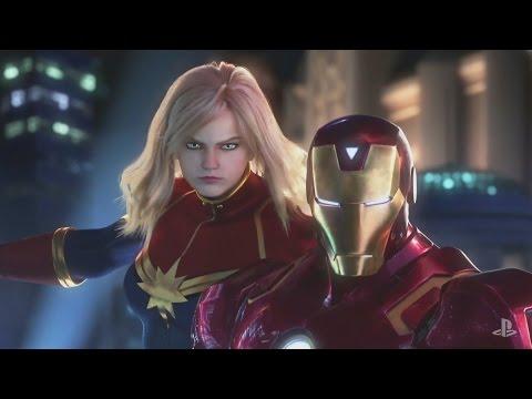 Marvel vs Capcom Infinite Trailer PSX 2016