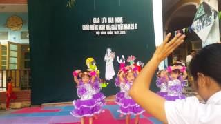 Múa tay thơm tay ngoan lớp 3 tuổi