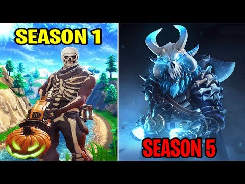 SEASON 1 Vs SEASON 5 (Old Fortnite Nostalgia & Gameplay)