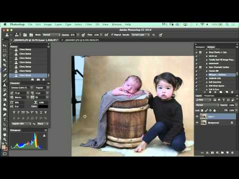 Retouching Tip: Kelly Brown on Removing Shadows