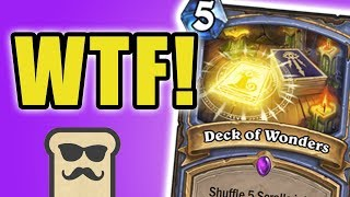 DECK OF WONDERS IS INSANE! | KOBOLDS AND CATACOMBS | HEARTHSTONE | DISGUISED TOAST
