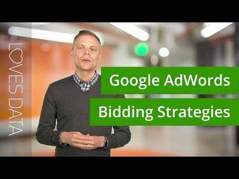 Using Google AdWords Bidding Strategies