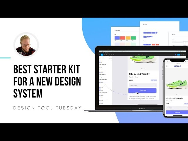Best Starter Kit for a New Design System? - Design Tool Tuesday, Ep37
