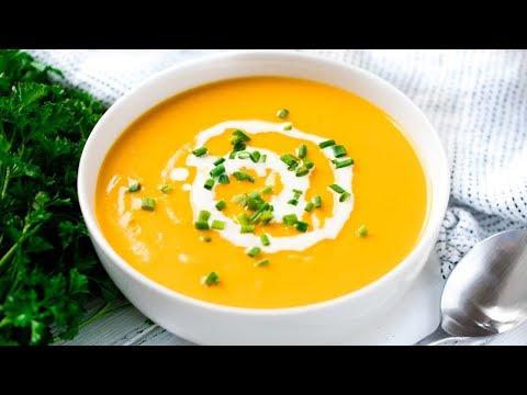 How to Make Simple Sweet Potato Soup