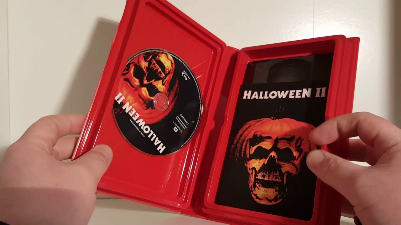 Halloween Ii Das Grauen Kehrt Zurück 1981 Von Imc Retro Blu Ray Edition Limited 250 Teil 2 Vom Alex