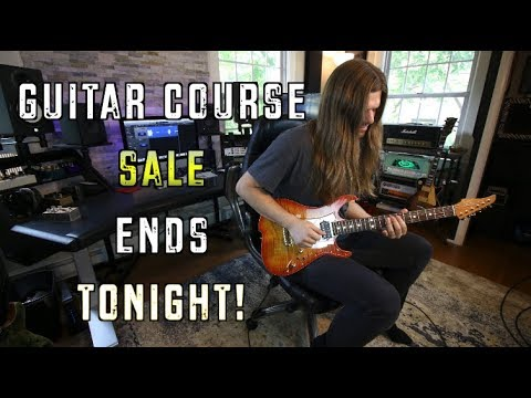 Guitar Course Sale Ends Tonight!