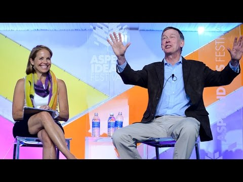The Dope on Pot: Colorado Governor John Hickenlooper and Katie Couric in Conversation