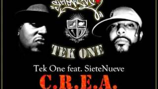 """Tek One feat. SieteNueve - """"C.R.E.A."""" Parte I"""