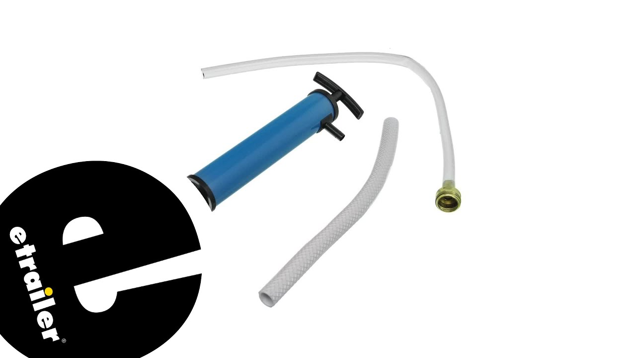 Etrailer Camco Rv Antifreeze Hand Pump Review Youtube