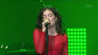 Lorde Green Light New Zealand Music Awards 2017