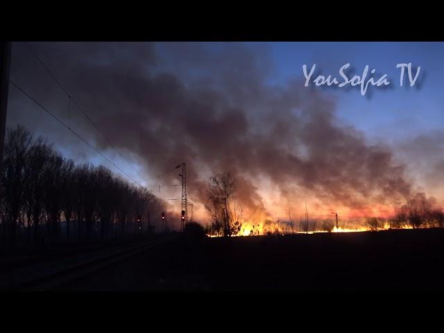 YouSofia TV - Ексклузивно: Огнен ад в Световрачене!
