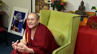 Khenpo Thubten Gongphel  - Three Visions:  Part Five -Tsechen Namdrol Ling  Santa Fe NM