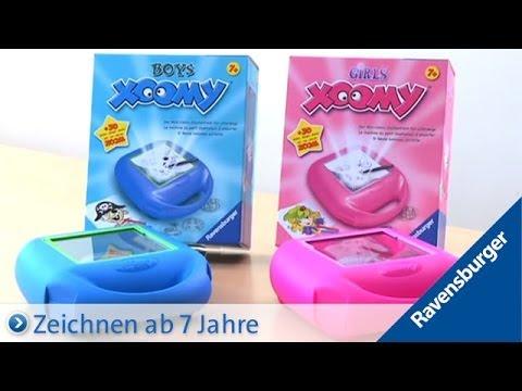 Verwonderlijk Ravensburger Xoomy® Boys and Girls - YouTube DC-56