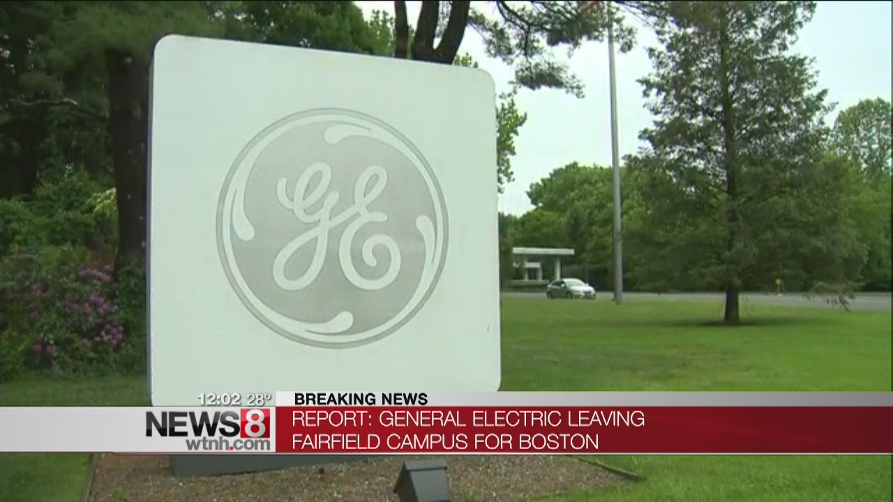 f238cbe85 Report  GE to move headquarters from Connecticut to Boston - YouTube