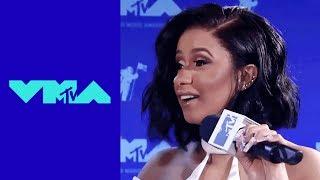 Cardi B Talks Pre-Show Performance & 'Bodak Yellow' w/ Charlamagne Tha God | 2017 VMA Pre-Show | MTV
