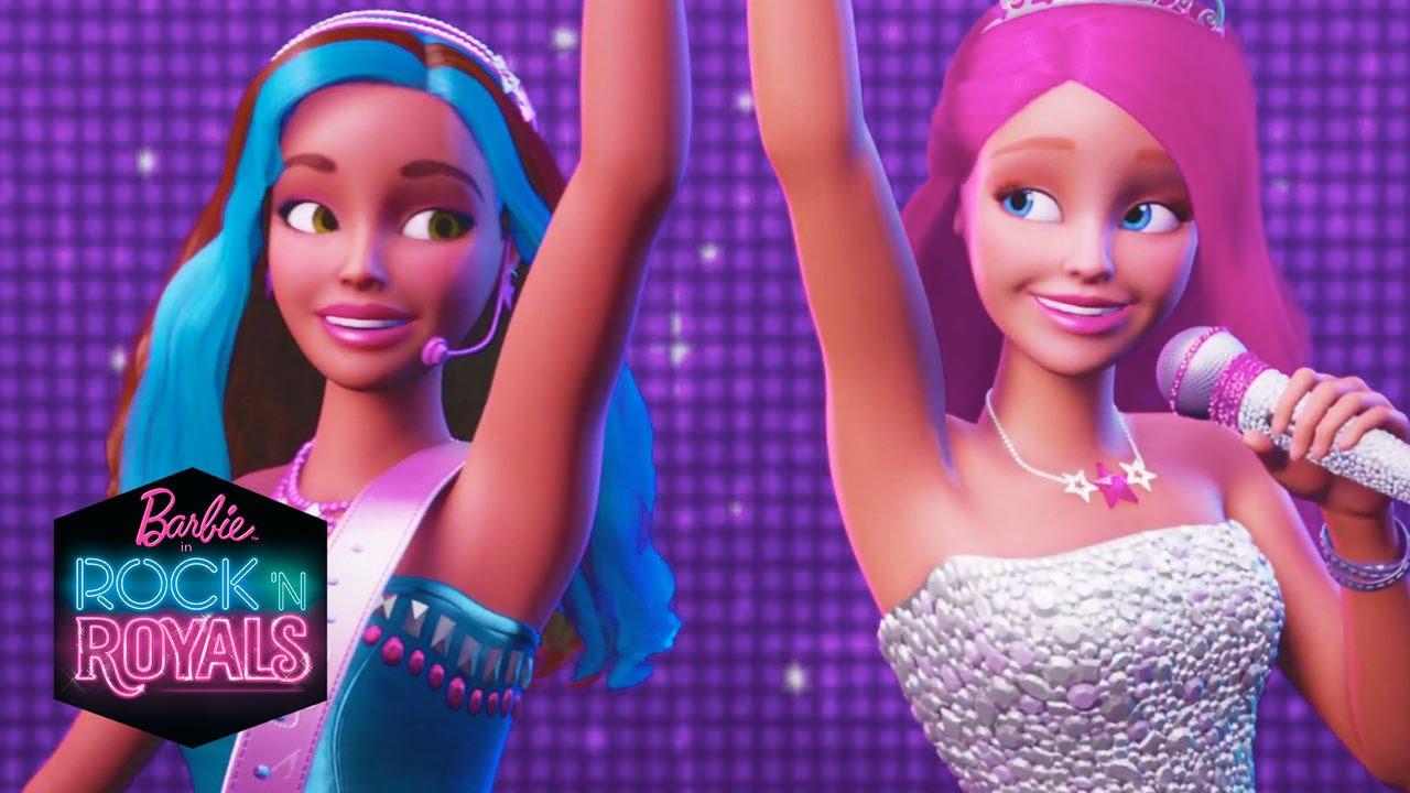 Barbie™ dans la bande-annonce officielle de Rock et Royales   Barbie Français