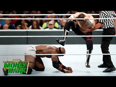 Bobby Lashley vs. Sami Zayn: WWE Money in the Bank 2018 (WWE Network Exclusive)