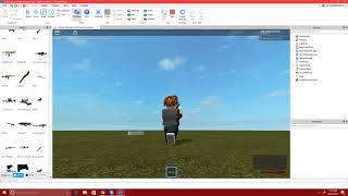 Roblox - how to make a click Detector give a tool - Brandon Army