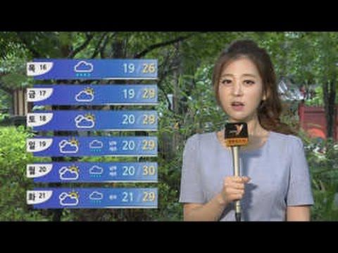 [날씨] 오늘 전국 비…중부 최고 80mm 이상