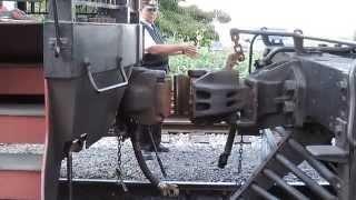 (HD) Coupler Action @ The Strasburg Railroad, Strasburg, PA