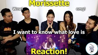 MORISSETTE - I Want To Know What Love Is (MYX Live! Performance) | Reaction - Australian Asians