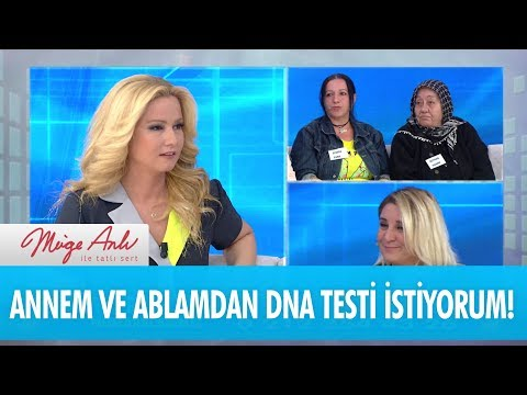 Annem ve ablamdan DNA testi istiyorum - Müge Anlı İle Tatlı Sert 20 Nisan 2018