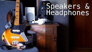 BASS RECORDING - Headphones and Speakers