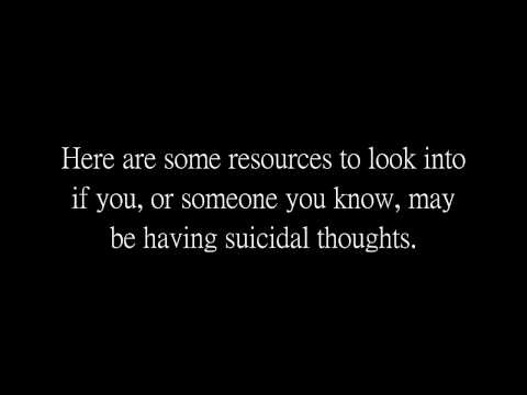 Suicide Awareness and Resources for Assistance
