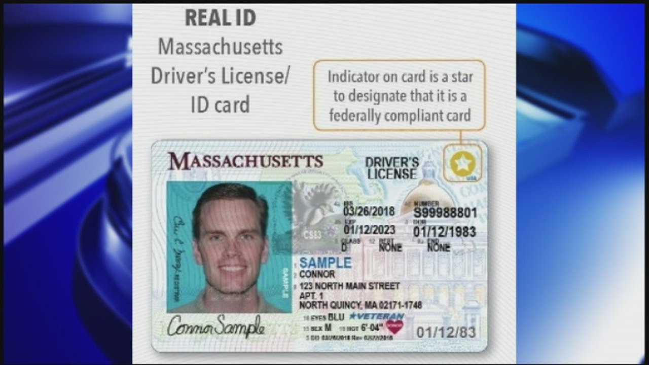 Real id licenses to go into effect in massachusetts