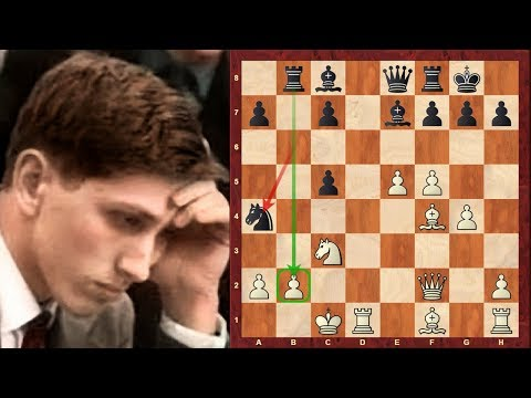 Bobby Fischer vs Eugenio Maciel German : Notable game: Stockholm Interzonal (1962)  ·  Russian Game