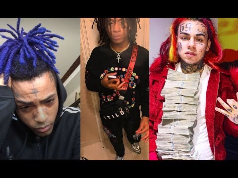 Trippie Redd disses xxxtentacion for 'switching sides' & being friends with 6ix9ine because of Drake