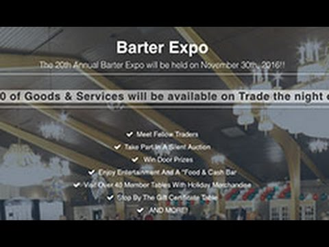 New England Trade - The 20th Annual Barter Expo 2016!!