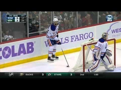 Minnesota Wild Score 2 Goals in 38 Second to Take the Lead vs Edmonton