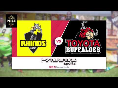 LIVE: Rhinos vs Buffaloes #NileStoutRugby