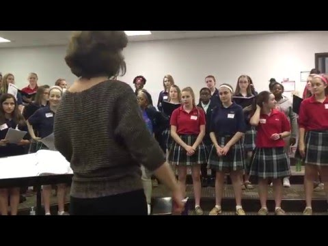 Making Music Together | CJA Hosts Marian Middle School Choir