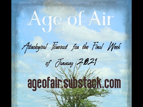 Astrological Forecast for the Final Week of January 2021 | Podcast