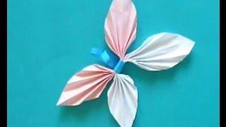 как сделать бумажную бабочку своими руками