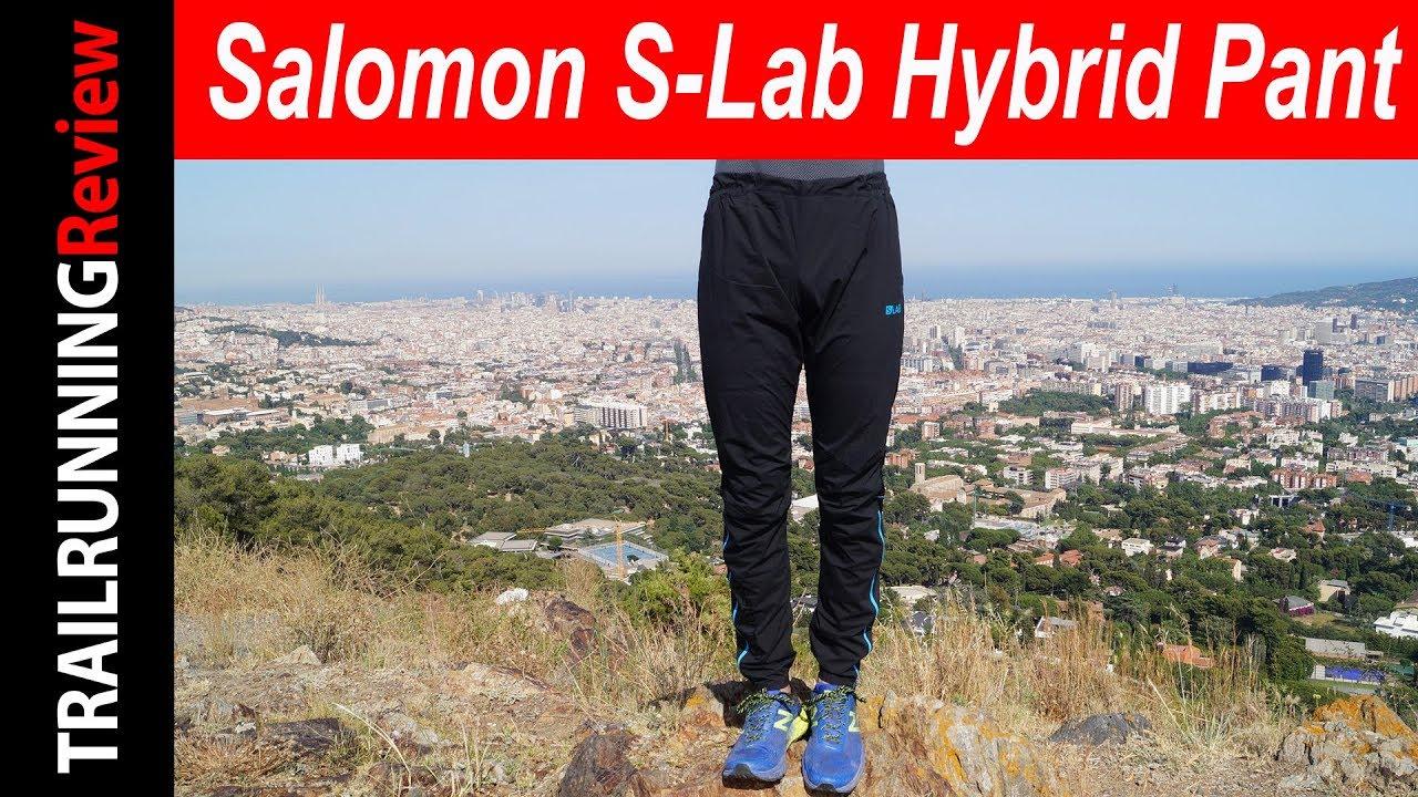 Salomon S-Lab Hybrid Pant Review - YouTube 7a8c0b189a