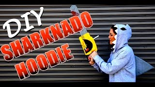 DIY Fashion | Sharknado Hoodie Costume