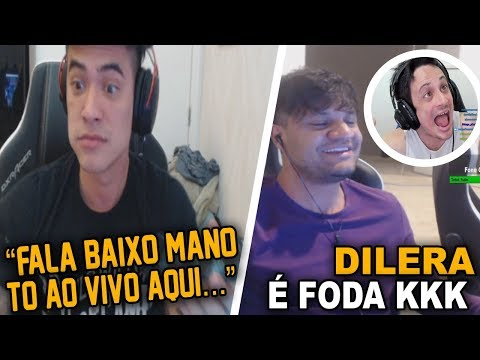 VSM VAZOU O FNX NA DETONA POR ÁUDIO AO VIVO & FER REAGINDO AO DILERA
