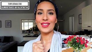 Blumenstrauß am Valentinstag | Familienalltag | Donislife