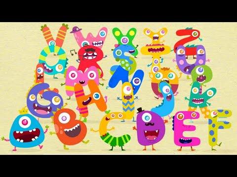 Learn ABC Alphabet Vocabulary   Learn ABC with Funny Cartoon Characters   Educational Games for Kids